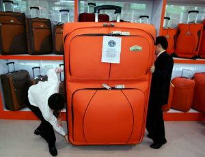 Правила перевозки багажа на поезде Премиум