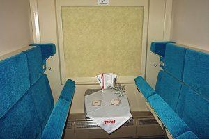 Оборудование вагонов в поезде Премиум